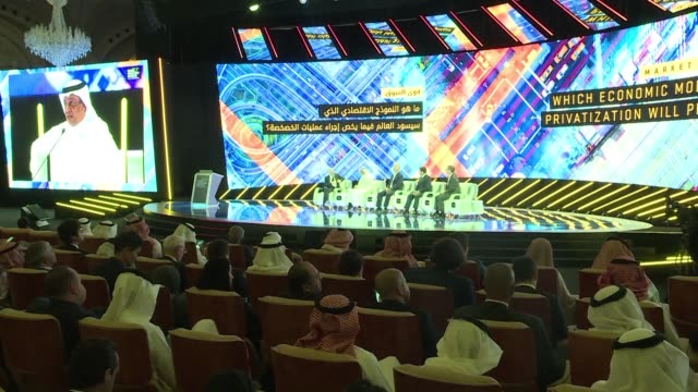 some of those attending the future investment initiative in riyadh say people who choose to cancel over the killing of the journalist jamal khashoggi... - attending stock videos and b-roll footage