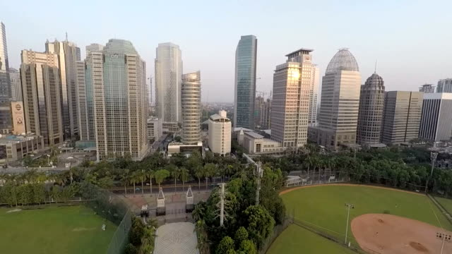 Some Office Buildings in Jakarta, Sudirman District