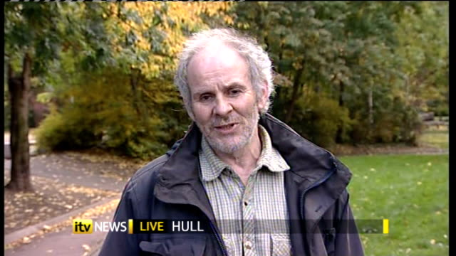 some prisoners to be given the right to vote england london gir john hirst 2 way interview from hull and douglas carswell mp 2 way interview from... - キングストンアポンハル点の映像素材/bロール