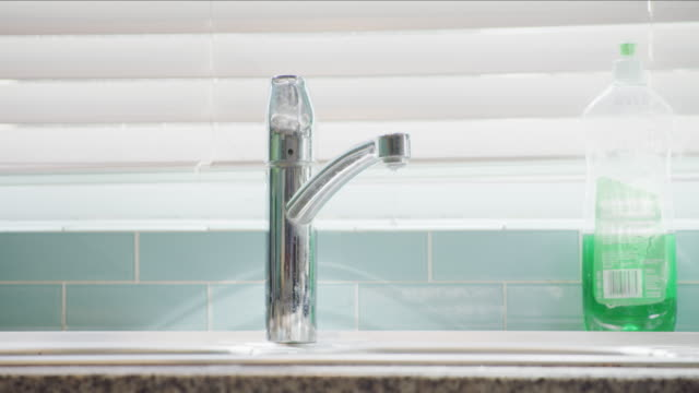 somebody didn't close the tap properly - water conservation stock videos & royalty-free footage
