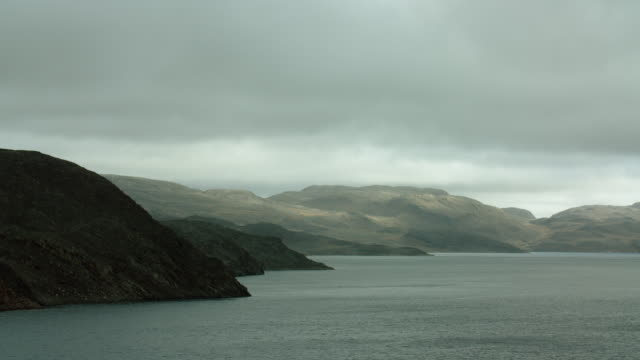 somerset island along bellot strait - northwest passage stock videos and b-roll footage
