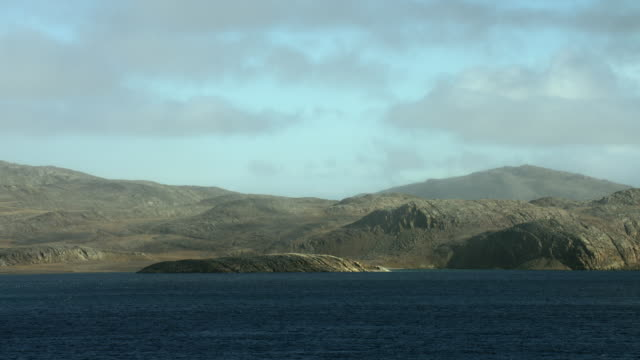 somerset island coast on bellot strait - northwest passage stock videos and b-roll footage
