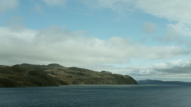 somerset island seen from bellot strait - northwest passage stock videos and b-roll footage