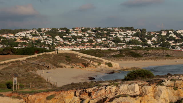 son bou at sunset - minorca stock videos & royalty-free footage