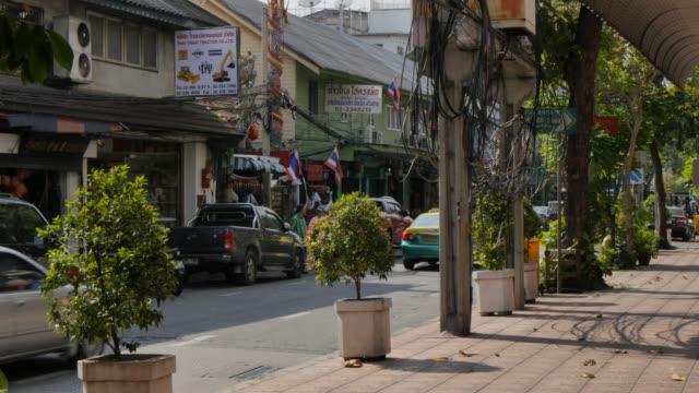 Song Wang Road in Chinatown, Bangkok, Thailand, Southeast Asia, Asia