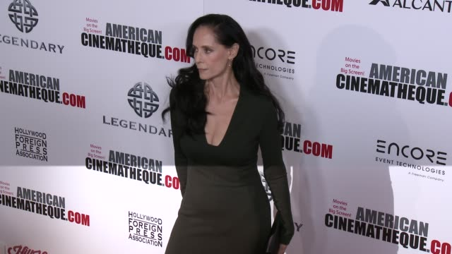 vídeos y material grabado en eventos de stock de sonia braga at 30th annual american cinematheque awards gala in los angeles ca - premio american cinematheque