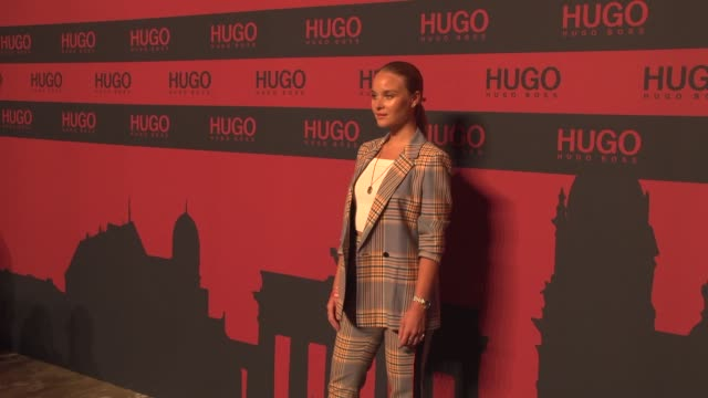 sonja gerhardt at the hugo launch party with live performance by liam payne during the berlin fashion week spring/summer 2020 at wriezener karree on... - liam payne stock videos and b-roll footage