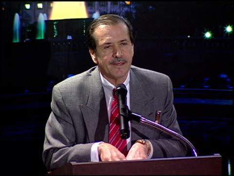sonny bono at the images of ourselves conference at paramount studios in hollywood california on february 24 1996 - paramount studios stock videos and b-roll footage