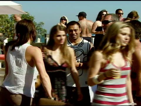 vídeos y material grabado en eventos de stock de sonny garcia at the bra boys bbq presented by anheuserbusch at polaroid beach house in malibu california on august 19 2007 - anheuser busch inbev
