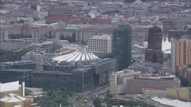 sony centre - berlin stock videos & royalty-free footage