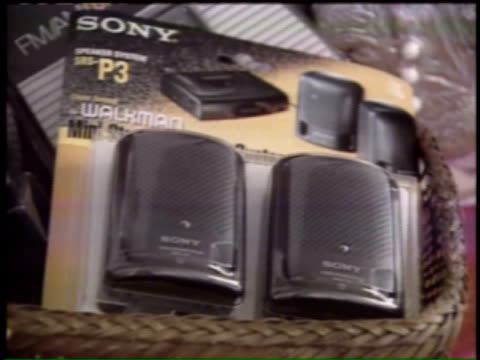 sony walkman on november 09 1995 in chicago illinois - sony stock videos & royalty-free footage