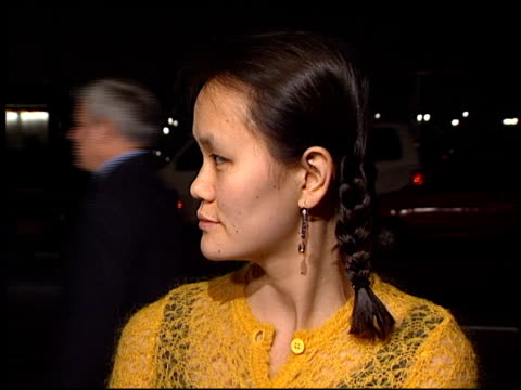 soonyi previn at the 'sweet and lowdown' premiere at academy theater in beverly hills california on december 2 1999 - soon yi previn stock videos & royalty-free footage