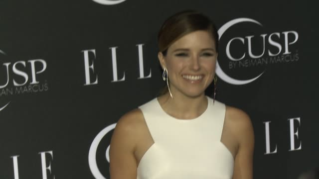 stockvideo's en b-roll-footage met sophia bush at 5th annual elle women in music celebration presented by cusp by neiman marcus at avalon on april 22, 2014 in hollywood, california. - neiman marcus