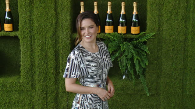 vídeos de stock, filmes e b-roll de sophia bush at the eighth annual veuve clicquot polo classic los angeles at will rogers state historic park on october 14 2017 in pacific palisades... - sophia bush