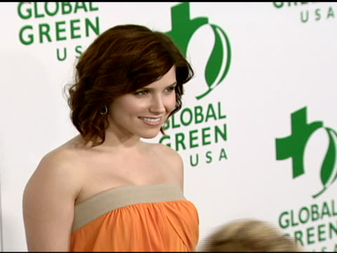 Sophia Bush at the Global Green USA's 5th Annual PreOscar Party at NULL in Hollywood California on February 20 2008