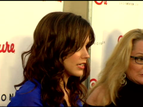 sophia bush at the launch the target couture collection by intuition founder jaye hersh at social hollywood in hollywood california on may 11 2006 - jaye hersh stock videos and b-roll footage