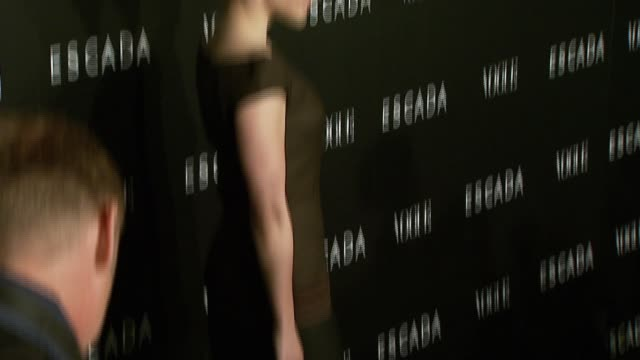 sophia bush at the the grand opening of the beverly hills flagship boutique celebrated by escada, hilary swank and vogue at escada in beverly hills,... - escada stock videos & royalty-free footage