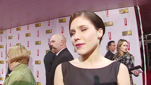 Sophia Bush on presenting on the caliber of films this year at the Broadcast Film Critics Association's 2007 Critic's Choice Awards at Santa Monica...