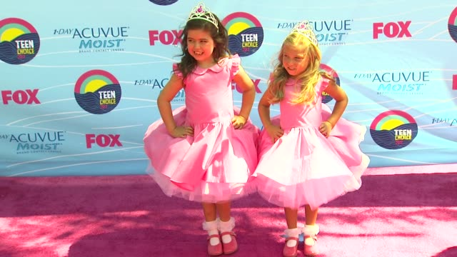 Sophia Grace Brownlee Rosie McClelland at 2012 Teen Choice Awards on 7/22/12 in Los Angeles CA