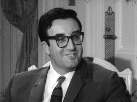 sophia loren and peter sellers interview; england: london: the ritz hotel: int sophia loren and peter sellers interview sof - re new film 'the... - sophia loren stock videos & royalty-free footage