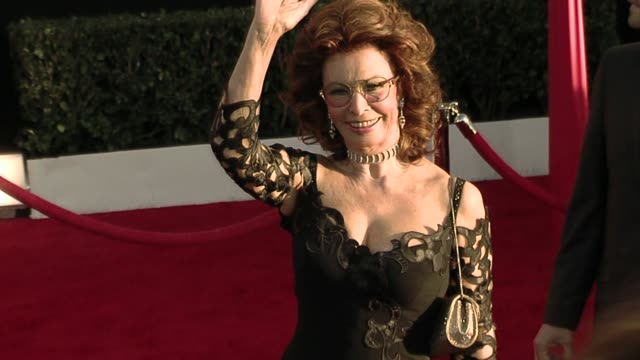sophia loren at the 16th annual screen actors guild awards - arrivals at los angeles ca. - sophia loren stock videos & royalty-free footage