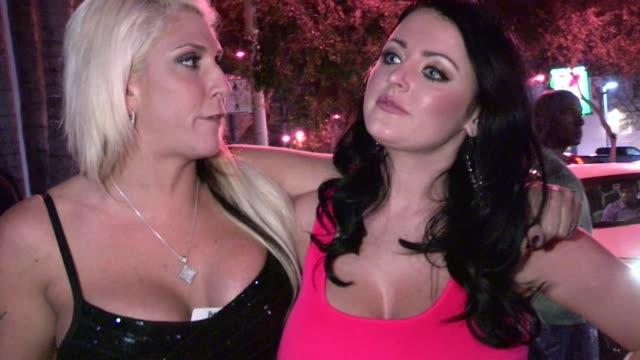 Sophie Dee Kelly Stacks at Voyeur in Hollywood 05/26/12