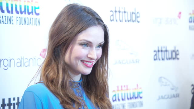 sophie ellis-bextor at virgin atlantic attitude awards powered by jaguar 2019 at the roundhouse camden at the roundhouse on october 9, 2019 in... - attitude stock videos & royalty-free footage
