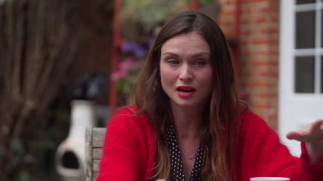 sophie ellisbextor saying the government's financial support of the arts during the coronavirus is being spread thin - b roll stock videos & royalty-free footage