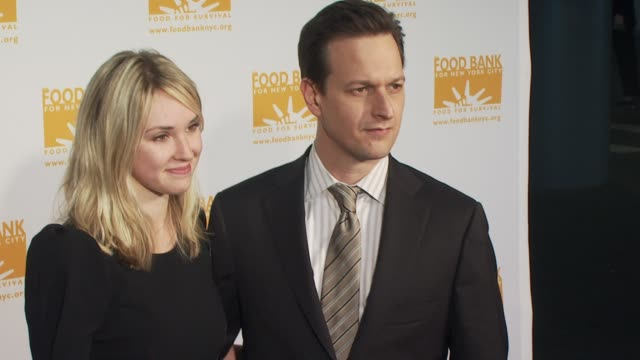 sophie flack and josh charles at the food bank for new york city's 8th annual cando awards dinner at new york ny - josh charles stock videos and b-roll footage