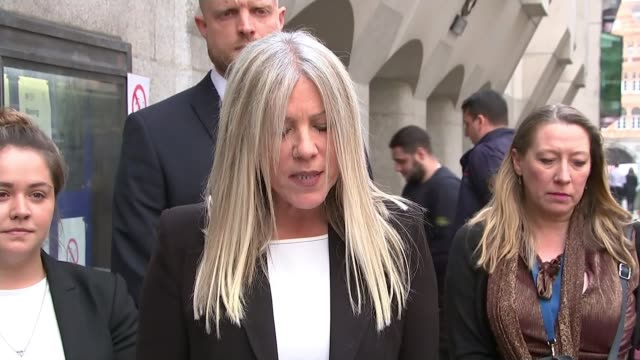 Couple found guilty ENGLAND London EXT Detective Inspector Domenica Catino speaking to press SOT