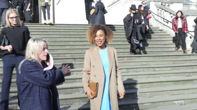 sophie okenedo on february 17, 2019 in london, united kingdom. - sophie okonedo stock videos & royalty-free footage