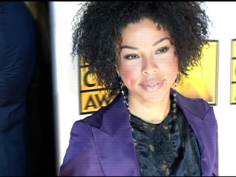 sophie okonedo at the 2005 critics' choice awards at the wiltern theater in los angeles, california on january 10, 2005. - sophie okonedo stock videos & royalty-free footage