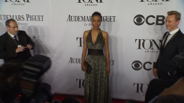 sophie okonedo at the 2014 tony awards at radio city music hall on june 08 2014 in new york city - sophie okonedo stock videos & royalty-free footage