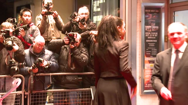 sophie okonedo b at the london film festival - the secret life of bees premiere at london . - sophie okonedo stock videos & royalty-free footage