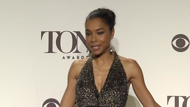interview sophie okonedo on direction she got while playing an american on the challenge of playing the part on her reaction to winning at 2014 tony... - sophie okonedo stock videos & royalty-free footage