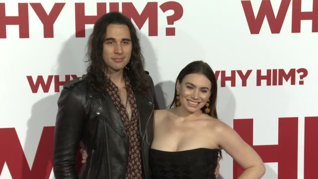Sophie Simmons and Nick Simmons at the Why Him World Premiere at Regency Bruin Theater on December 17 2016 in Westwood California