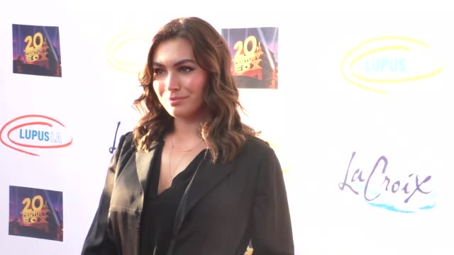 sophie simmons at the lupus la orange ball a night of superheroes at fox studios in los angeles at celebrity sightings in los angeles on may 07 2016... - lupus la orange ball video stock e b–roll