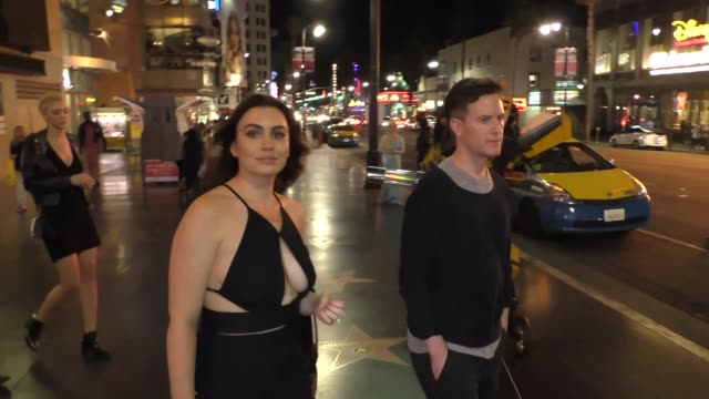 INTERVIEW Sophie Simmons talks about the Movie We Are X outside TCL Chinese Theatre in Hollywood in Celebrity Sightings in Los Angeles
