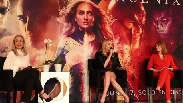 MEX: X-Men Dark Phoenix - Press Conference