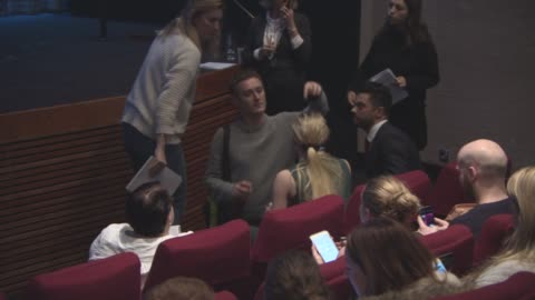 sophie turner, dominic cooper at bafta film nominations 2017 on january 10, 2017 in london, england. - nomination stock videos & royalty-free footage