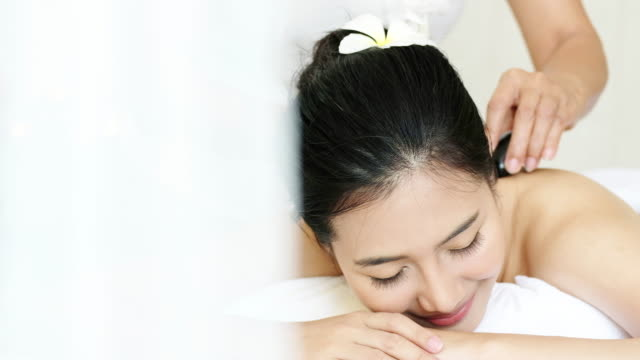 Sophisticated Spa Treatment and massage for relaxation.