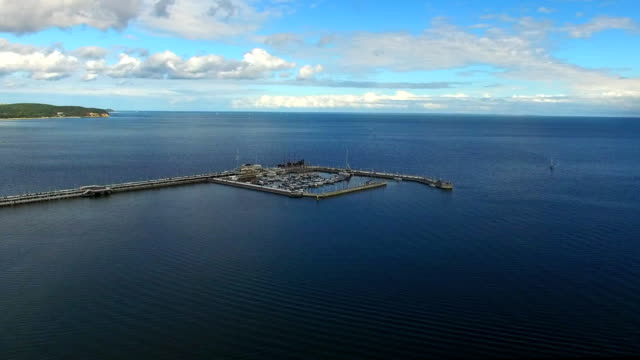 Sopot Pier in the Baltic Sea Poméranie Poland