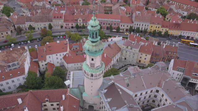 Sopron city from above