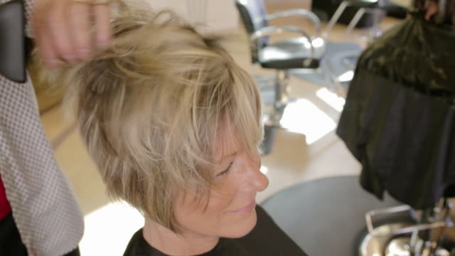 sorenza salon - hairdresser stock videos & royalty-free footage