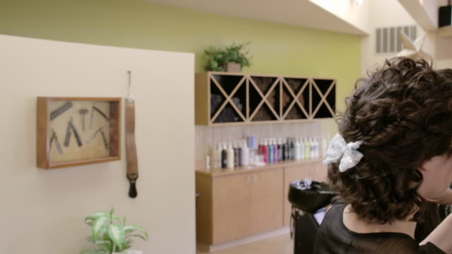 sorenza salon - houseplant stock videos and b-roll footage