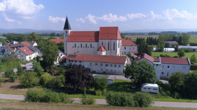 sossau pilgrimage church near straubing in lower bavaria - pilgrimage stock videos & royalty-free footage