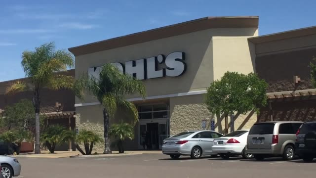 sots with nicholas santiago a 16yearold student and lydia both of whom didn't know that their local kohl's store is closing various shots of the... - kohls stock videos & royalty-free footage