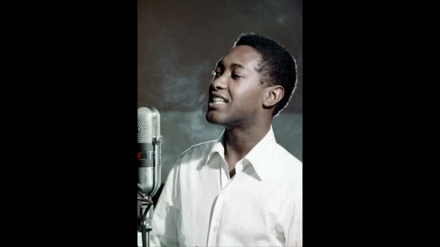 gif soul singer sam cooke records in the rca studios in 1959 los angeles california - soul music stock videos & royalty-free footage