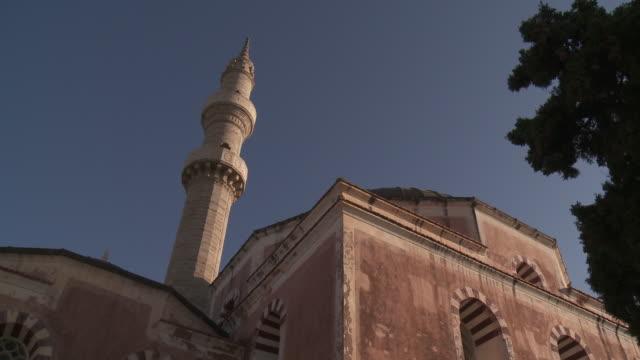 souleiman mosque. rhodes island. - ロードス島点の映像素材/bロール