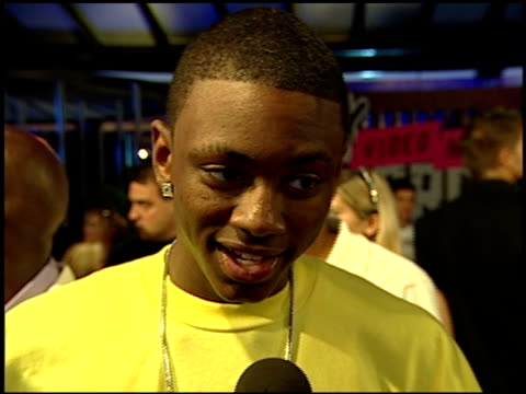 Soulja Boy talks about rehearsing and hanging out with Kanye West at the 2007 MTV Video Music Awards at the Palms Casino Resort in Las Vegas Nevada...